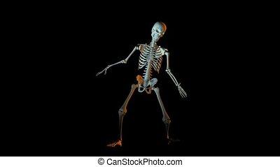 Dancing Skeleton Animation