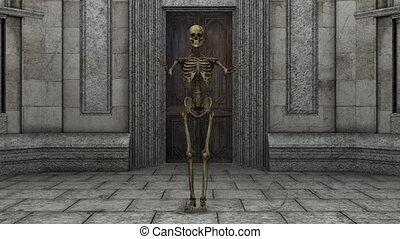 skeleton - dancing skeleton