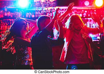 Dancing together
