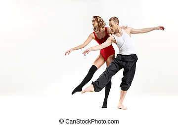 Dancing two people