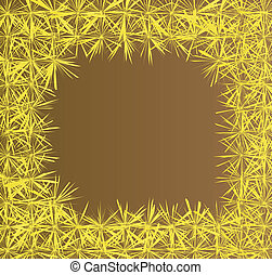 Dandelion flower vector background