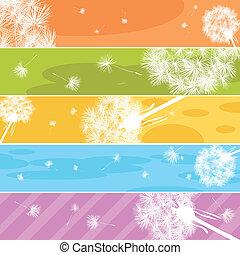 Dandelion Web banners