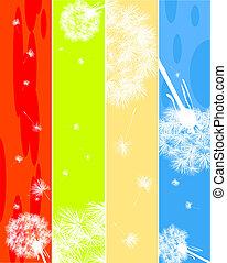 Dandelions banners