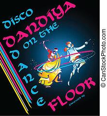 dandiya, disco