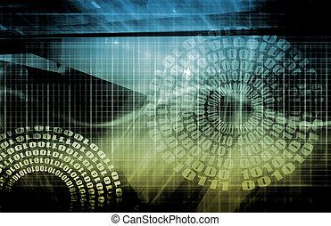dane, sieć