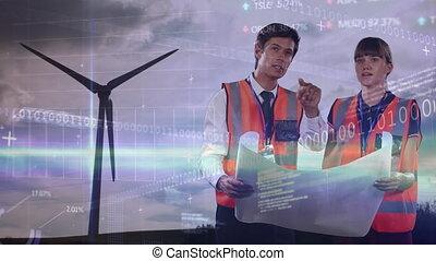 dane, zamiana, plany, turbina, inżynierowie, tokarski, ...