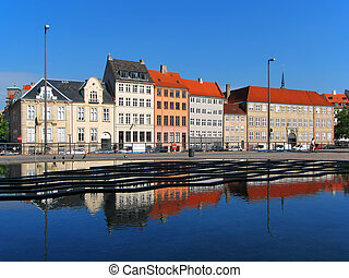 danemark, architecture, copenhague