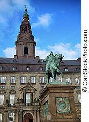 danemark, christiansborg, palais, copenhague