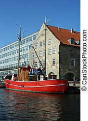 danemark, christianshavn, -, copenhague