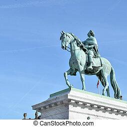 danemark, copenhague, -, monument