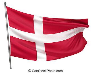 danemark, drapeau national