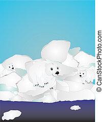 Danger at the Polar ice caps...
