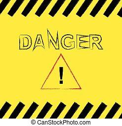 Danger background