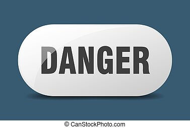 danger button. danger sign. key. push button.