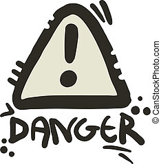 Danger cartoon