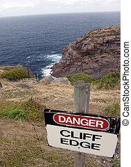 Danger, Cliff Edge!