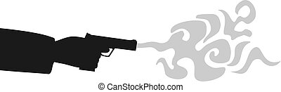 danger, fusil, assassin