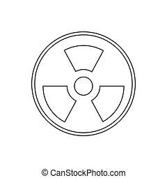 Danger icon vector