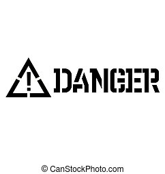 danger label , label - danger label on white background ,...