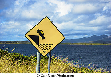 Danger signal in Ireland