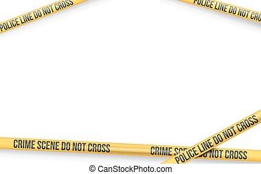 Danger Tape Lines