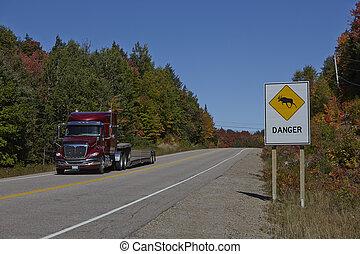 Danger Zone Highway