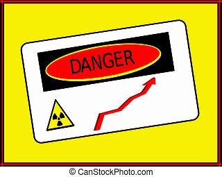 Danger zone radiation rise