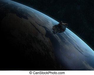 dangereux, astéroïde