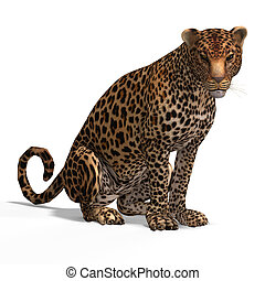 Big Cat Leopard - Dangerous Big Cat Leopard With Clipping ...