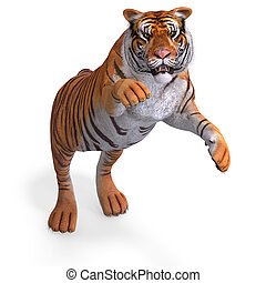 Big Cat Tiger - Dangerous Big Cat Tiger With Clipping Path ...