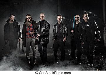 Dangerous gangsters