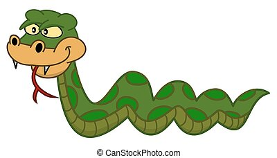 dangerous venomous snake