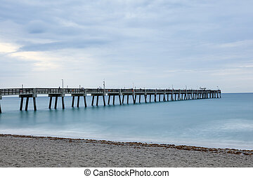 Dania Beach fishing pier, Florida