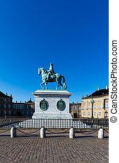 danish, 왕다운, 성, amalienborg
