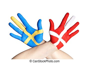 danish and swedish hands