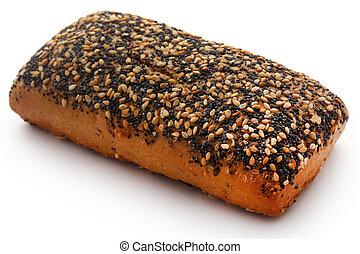 Danish bread with poppy seeds