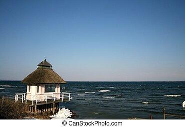 danish east coast - view of the danish east coast with...