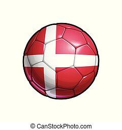 Danish Flag Football - Soccer Ball