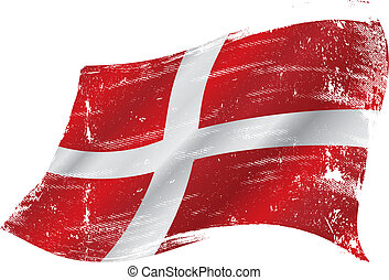 danish grunge flag