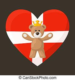 Danish Royal Teddy Bear