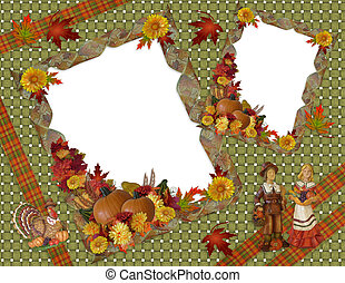 dankzegging, herfst, herfst, achtergrond