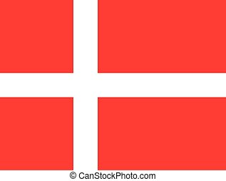 dannebrogsflag tegning