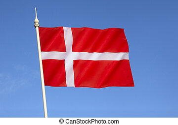 dannebrog, 旗, -, デンマーク