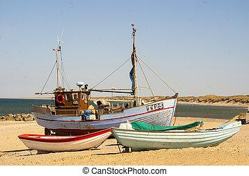 danois, bateau pêche
