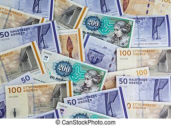 danois, kroner., denmark's, monnaie
