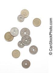 danois, pièces