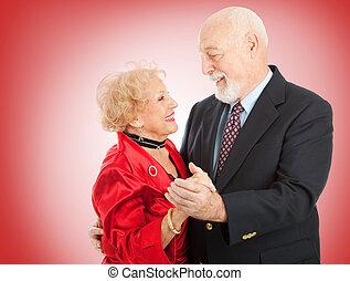 dans, senior, valentijn