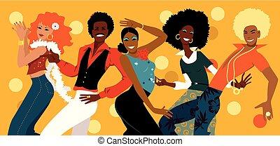 dans, själ, grupp