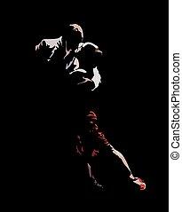 dans, tango, passion