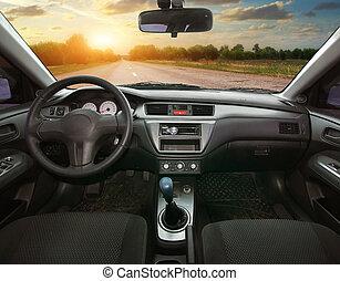 dans voiture